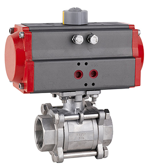 Pneumatic-Actuator-3-PCS-Ball-Valve